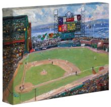 "World Series™, National League Champions, San Francisco Giants™ - 8"" x 10"" Gallery Wrapped Canvas"