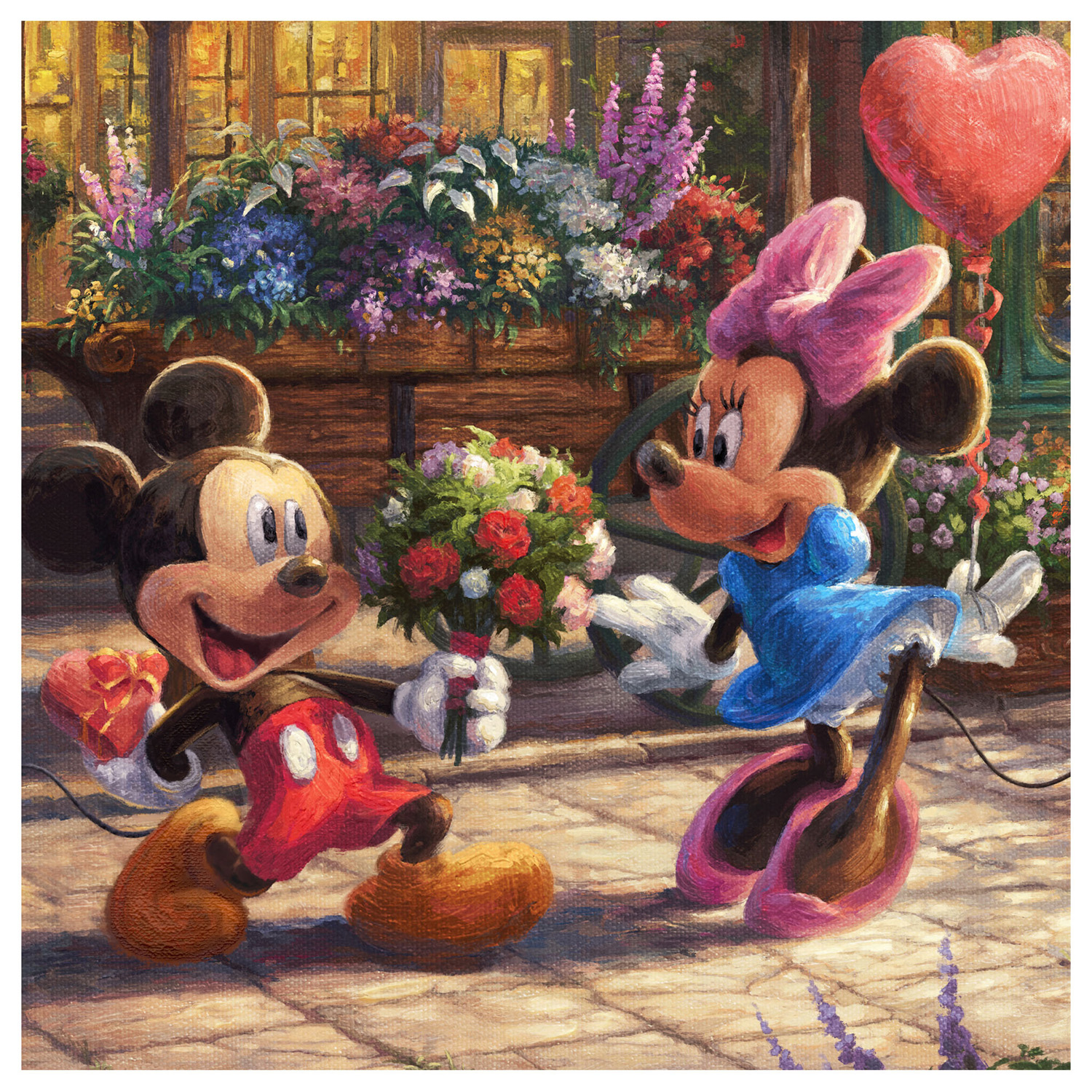 Disney Mickey And Minnie Sweetheart Caf 233 Limited