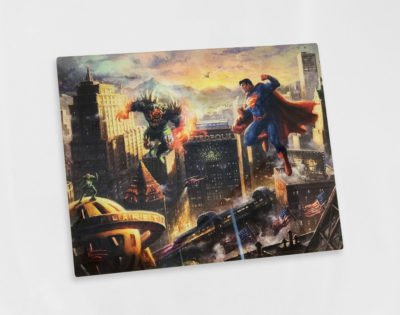 "Superman - Man of Steel 11"" x 14"" Acrylic Print"
