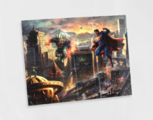 "Superman - Man of Steel 11"" x 14"" Metal Print"