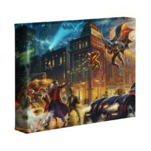 "The Dark Knight Saves Gotham City 8"" x 10"" Gallery Wrapped Canvas"