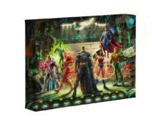 "The Justice League 16"" x 24"" Premier Wrap Edition Limited Edition Canvas"