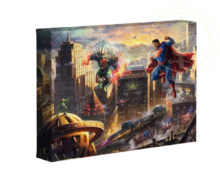 "Superman - Man of Steel 16"" x 24"" Premier Wrap Edition Limited Edition Canvas"