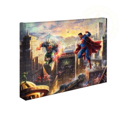 """Superman - Man of Steel 10"""" x 14"""" Gallery Wrapped Canvas"""