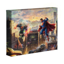 "Superman - Man of Steel 8"" x 10"" Gallery Wrapped Canvas"