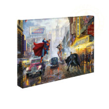 "Batman, Superman and Wonder Woman 10"" x 14"" Gallery Wrapped Canvas"