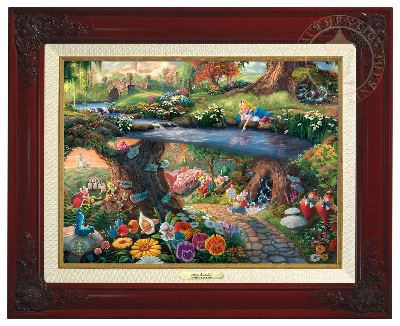 Disney\'s Alice in Wonderland – Canvas Classic (Brandy Frame ...