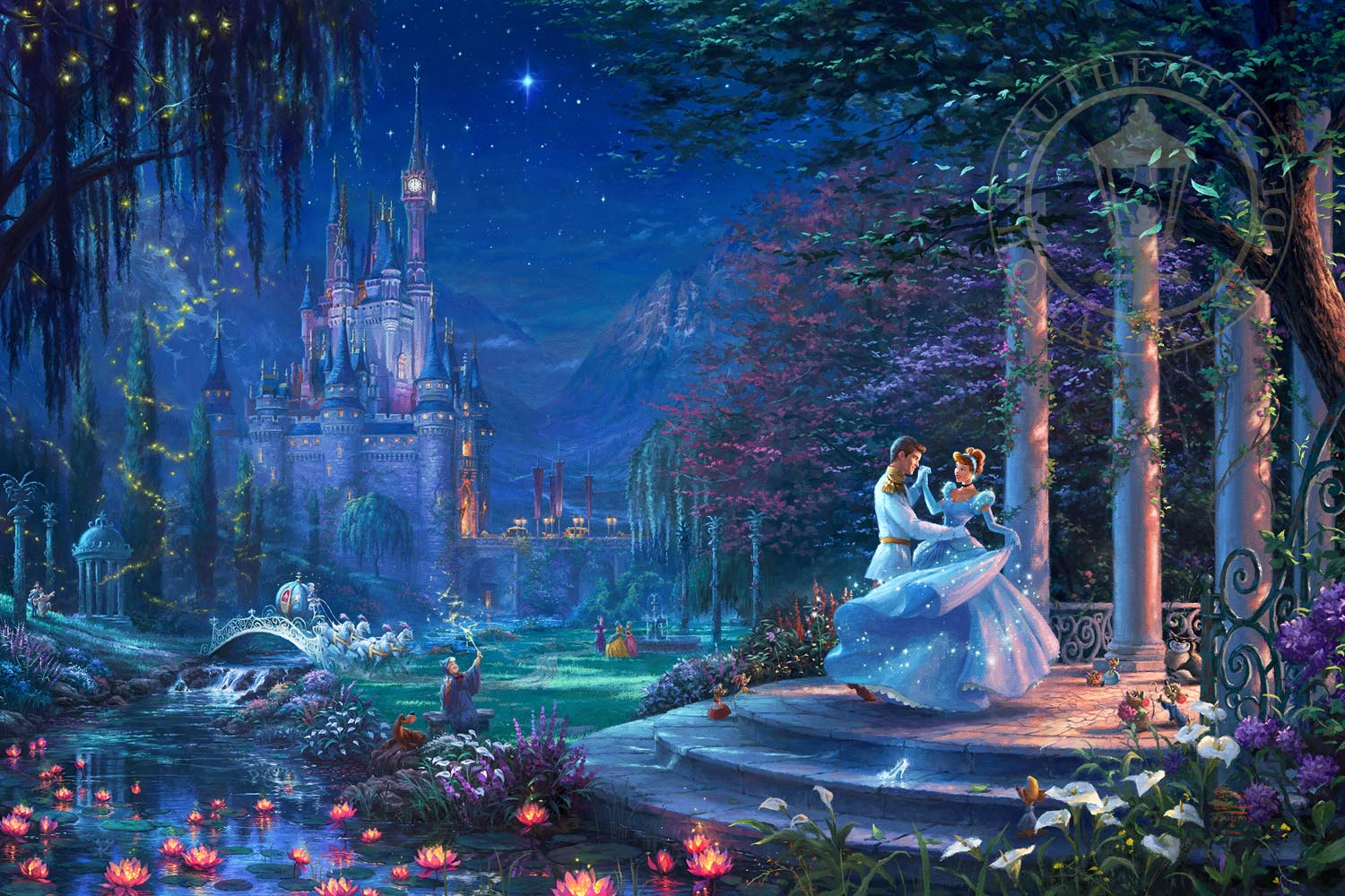 cinderella dancing in the starlight limited edition art thomas