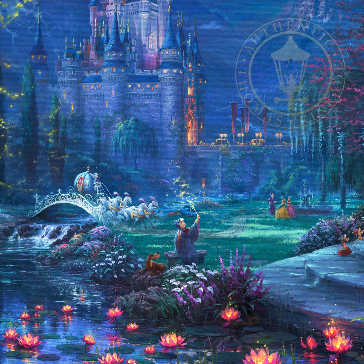 Cinderella Dancing In The Starlight Limited Edition Art