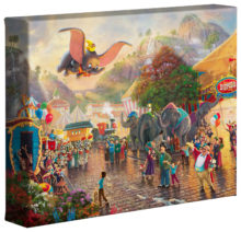 "Disney Dumbo - 8"" x 10"" Gallery Wrapped Canvas"
