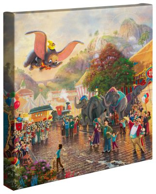"Disney Dumbo - 14"" x 14"" Gallery Wrapped Canvas"