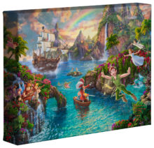 "Peter Pan's Never Land - 8"" x 10"" Gallery Wrapped Canvas"