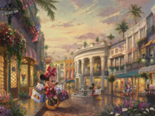 b3d245750d8 Minnie Rocks the Dots on Rodeo Drive – Limited Edition Art