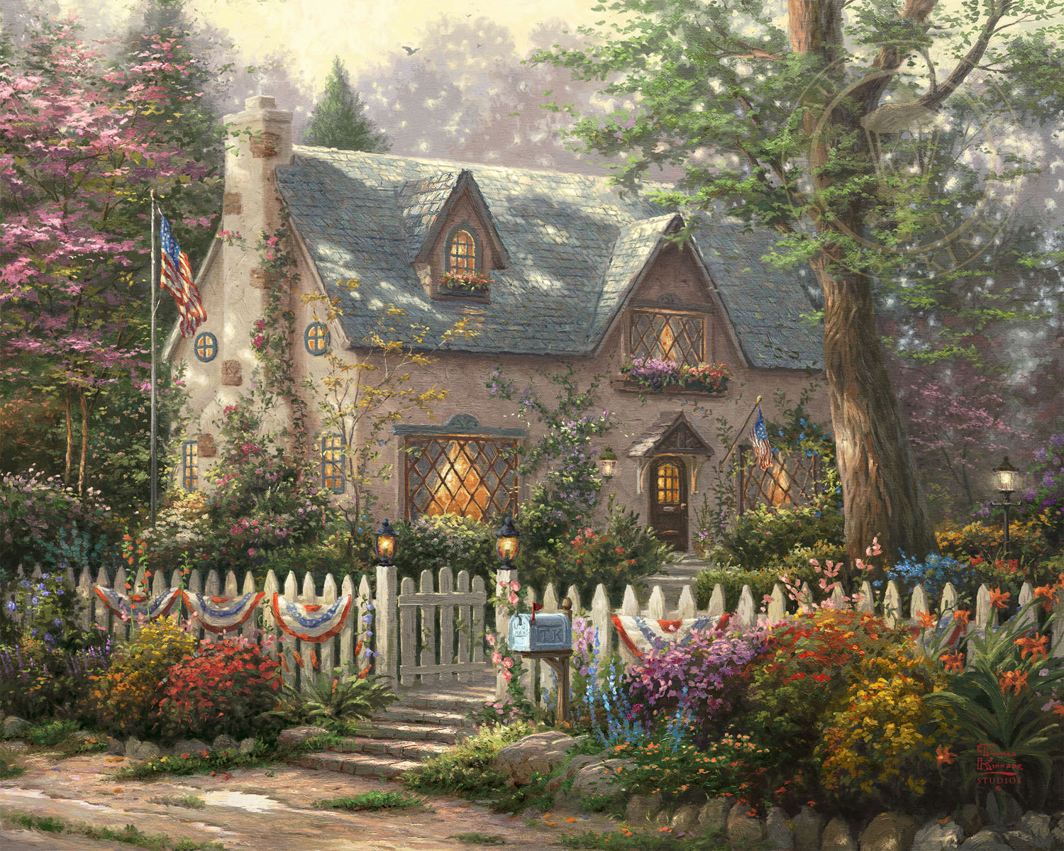 Amazing Liberty Lane Cottage Limited Edition Art Home Interior And Landscaping Ologienasavecom