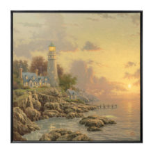 """Sea of Tranquility, The - 36"""" x 36"""" Framed Canvas Wall Murals"""
