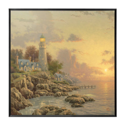"Sea of Tranquility, The - 36"" x 36"" Framed Canvas Wall Murals"