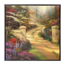 "Spring Gate - 36"" x 36"" Framed Canvas Wall Murals"