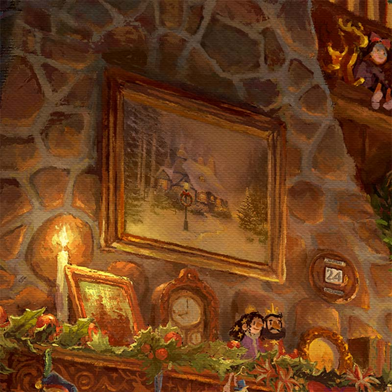 Santa S Workshop Limited Edition Art Thomas Kinkade
