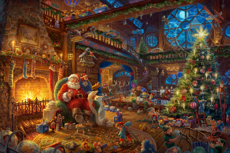 Image result for santa's workshop