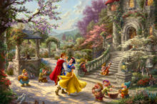 Snow White Dancing in the Sunlight - Limited Edition Art