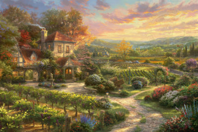 Wine Country Living - Limited Edition Art