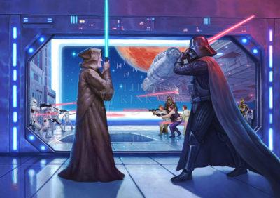 Obi-Wan's Final Battle - Limited Edition Art