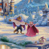 Beauty and the Beast's Winter Enchantment - Limited Edition Art