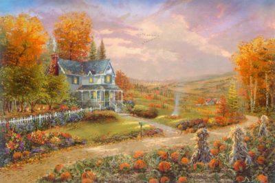 Autumn at Apple Hill