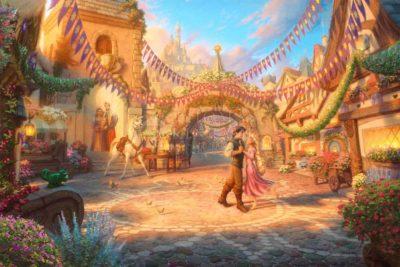 Rapunzel - Dancing in the Sunlit Courtyard