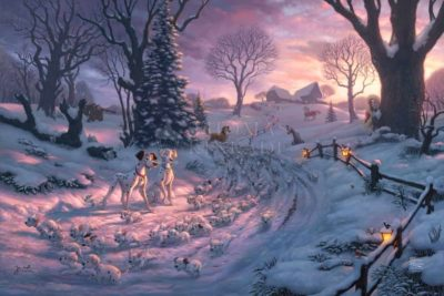 101 Dalmatians On The Run