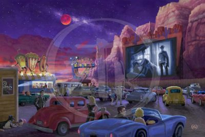 Western At The Drive-In