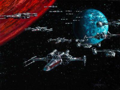 Battle Of Yavin - Rodel Gonzalez