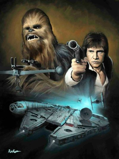 Wookie and the Scoundrel - Rob Kaz
