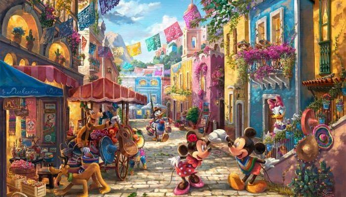 Minnie & Minnie Mexico Slide